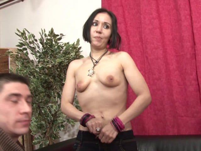 Son premier casting porno et sa première sodomie