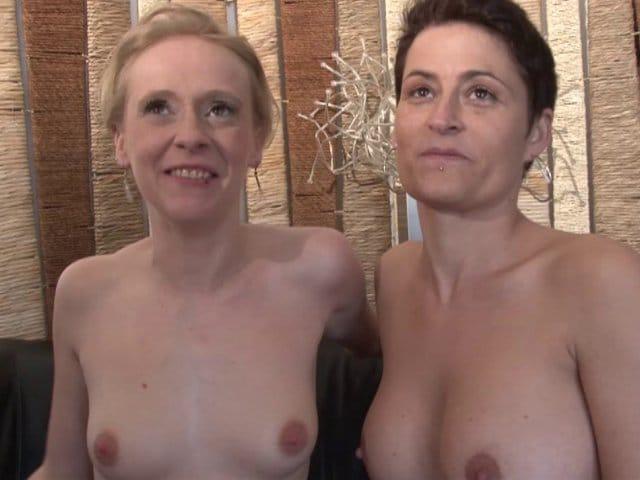 Casting X d'une femme au foyer libertine